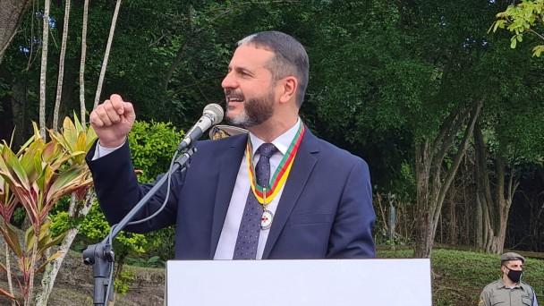 Secretário-adjunto da Secretaria de Segurança Pública, coronel Marcelo Gomes Frota