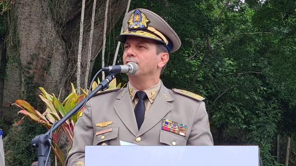 Comandante-Geral da Brigada Militar Coronel Vanius Santarosa